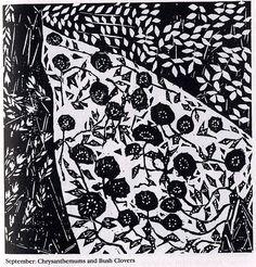 Shiko Munakata, woodcut
