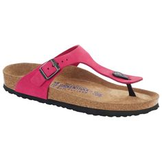 Gizeh Nubuck Leather Soft footbed Pink