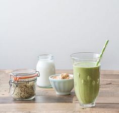 This is my favourite Frozen Banana and Peanut Butter smoothie, it's up on the blog now in case you'd like to try it out at home. It's the perfect mix of sweet creaminess and green goodness, perfect if you're looking for a tasty pick-me-up!