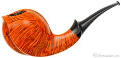 Lasse Skovgaard Smooth Bent Egg Pipes at Smoking Pipes .com