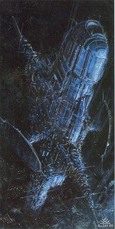 Отличный Science Fiction Art от Juan Gimenez. 42 работы.