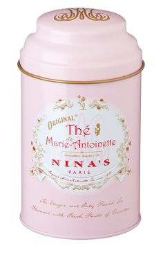 Amazon.com : Tea L'Original MARIE-ANTOINETTE PINK TIN : Grocery Tea Sampler : Grocery & Gourmet Food