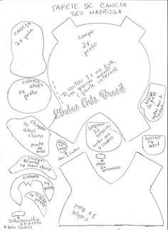 Porta copo da Chiquinha e do Seu Madruga da Turma do Chaves com molde Felt Crafts, Diy Crafts, Felt Coasters, Mug Rugs, Animals And Pets, Dragon Ball, Harry Potter, Mugs, Sewing