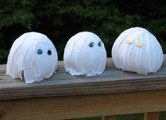 Balloon Ghouls Craft: Halloween Crafts for Kids & Spooky Halloween Party Activities - Kaboose.com