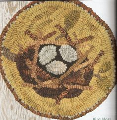 Incroyable Mb Natureu0027s Offering Maggie, Bonanomi, Wool Rug Hooking. The Ultimate Chair  Pad