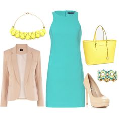 Spring Work Outfit by andrea-benzschawel on Polyvore