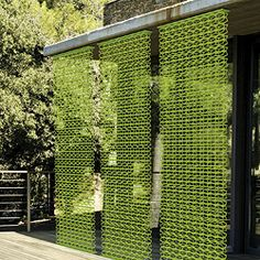 Decorative Modern Outdoor Privacy Screen Is Tres Chic