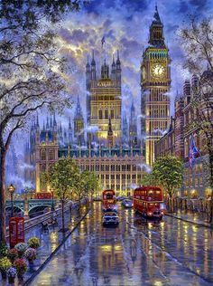 Cheap cross stitch kits, Buy Quality cross stitch kits directly from China stitching kit cross stitch Suppliers: New Cross Stitch Kits Unprinted Scenery London with Big Ben For Embroidered Handmade Art DMC Counted Set Wall Home Decor London Street, London Art, London Snow, London Winter, Big Ben London, London Night, Art Moderne, Night City, Winter Scenes