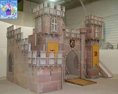 Herold's Fortress Castle Themed Play/Loft Bed By Custom Playhouses