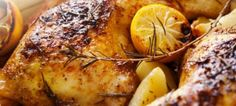 Slow Cooker Rosemary Chicken Breasts A tender and delicious meal courtesy of the slow cooker. Rosemary Chicken, Roasted Chicken, Balsamic Chicken, Balsamic Vinegar, Baked Chicken, Grilled Chicken, Lemon Chicken, Roasted Carrots, Chicken