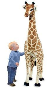 Amazon.com: Melissa & Doug Giraffe Plush: Baby--coolest toy ever