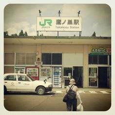 JR鷹ノ巣駅。隣接する秋田内陸縦貫鉄道の方は鷹巣駅。「ノ」が入ったり入らなかったりw Photo by ishi_zerodate • Instagram