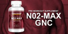 No2 Max Gnc Read full details here: