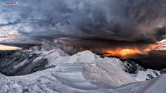 """Monte Orsaro - Tuscany, Italy - """"The end of the word is coming"""" by Fabius83"""