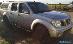 NISSAN NAVARA ST-X D40 2.5L TURBO DIESEL DUAL CAB 4X4 ENGINE DAMAGED REPAIRABLE #nissan #navara #forsale #australia