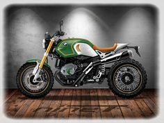 BMW R Nine-T CUSTOM on Behance