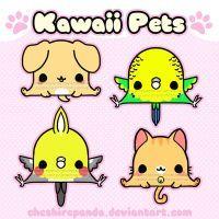 .:Kawaii Pets Remake 1:. by PhantomCarnival