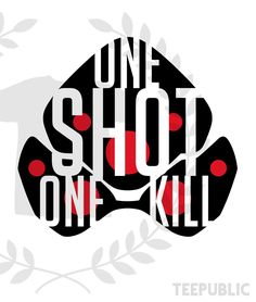 Overwatch Widowmaker - quote t-shirt by Roland 92