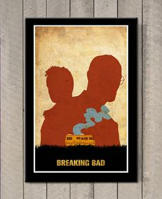 Breaking Bad Minimalist Poster    Poster size: 11 inches x 17 inches  - Printed on high quality, weather resistant, 220g texture card  - All