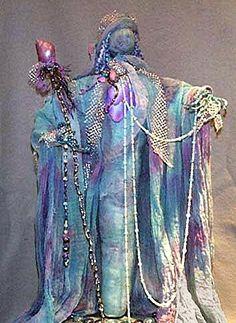 Custom Barbie, Spirit Doll, Spirited Art, Fairy Dolls, Polymers, Dreamcatchers, Doll Face, Voodoo, Bead Art
