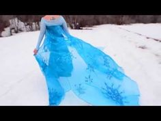 """Frozen Cosplay Music Video """"Let it Go"""" nailed it"""