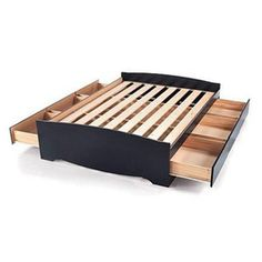 ''Sonoma'' Bed Platform with Storage, Standard Height - Sears