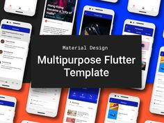 Flutter Material Design UI components and templates Ui Design, Layout Design, Icon Design, Ui Components, Design Guidelines, Ui Kit, Material Design, User Interface, Layouts