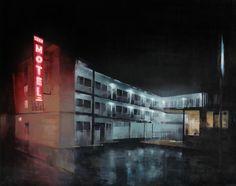 Kim Cogan, Paintings. Dark, brooding paintings by artist Kim Cogan. See more of his work below! [[MORE]] Kim Cogan: Website