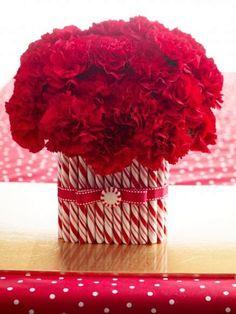 45 ideias de centro de mesa para o Natal