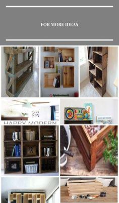 Dog Crate Bookshelf