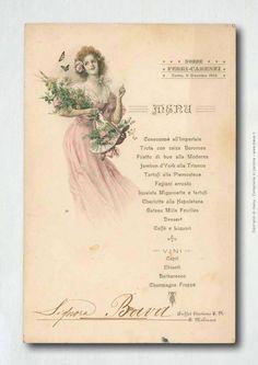 Mostra di Menu storici e tavolo di degustazione Bava a Cocco...Wine 2013 - News Bava