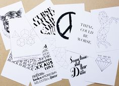 WEEKDAY CARNIVAL: GIVE AWAY /// NEW CARDS AT RK DESIGN