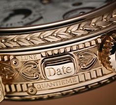 Patek Philippe Grandmaster Chime Ref. 5175 Date Repeater detail - as ornate as it gets! #patek175 #anniversary Perpetuelle.com