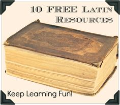 10 Free Latin Resources to Keep Learning Fun! The free charts and coloring pages for my younger kids