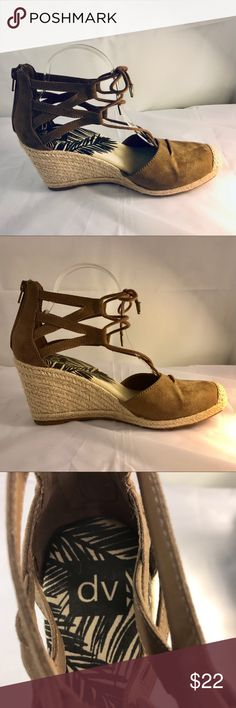 3309f8a585a DV Manica Ghillie Espadrille Wedge lace up sandal My Posh Closet