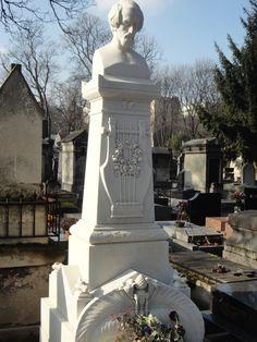2013 cimetière Montmartre: Tombe de Heinrich Heine