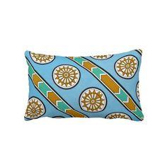 Vintage Assyrian Geometric Pattern Design Tribal Pillows