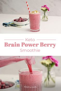 Boost your brain's potential by sipping our Keto Brain Power Cranberry Smoothie loaded with brain function-friendly ingredients ✨🧠 Brain Boosting Foods, Cranberry Smoothie, Ketogenic Breakfast, Power Smoothie, Diet Plan Menu, Weight Loss Smoothies, Keto Snacks, Smoothie Recipes, Keto Recipes