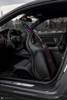 Equipped with our Motorsport Splitter and Performance Spoiler Bmw Interior, Custom Car Interior, Rolls Royce Motor Cars, Most Expensive Supercars, 135i, Custom Bmw, Street Racing Cars, Bmw E60, Racing Seats