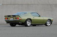 1971 Chevrolet Camaro Rear Side View