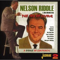 Shop Joy of Living/Riddle of Contrasts and [CD] at Best Buy. Find low everyday prices and buy online for delivery or in-store pick-up. Nelson Riddle, Live Cd, Johnny Mathis, Classic Album Covers, An Affair To Remember, Nat King, Face The Music, Joy Of Living, Music Library