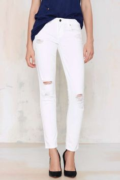 Genetic Denim Draw A Blank Skinny Jeans -