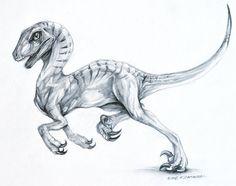 velociraptor tattoo - Google Search