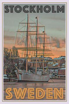 OLD SHIP - STOCKHOLM