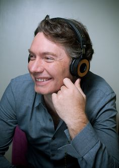 Director of Marley Documentary, Kevin Macdonald with his House Of Marley Headphones #marley #documetary #kevinmacdonald @hanoverldn @houseofmarleyuk