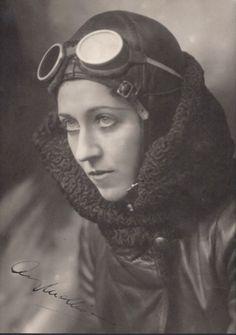 Amy Johnson, pioneering British aviator, circa1930