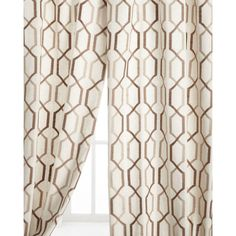 "Softline Home Fashions Each 54""W x 96""L Maxwell Curtain (1,000 HKD) ❤ liked on Polyvore featuring home, home decor, window treatments, curtains, softline home fashions, rod pocket curtains and lining curtains"