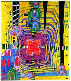 'we men are merely nature's guests.'-Hundertwasser