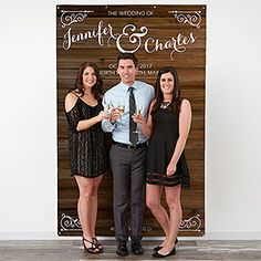 This is such a great idea and it will save so much money! You can have a DIY Photobooth at your wedding with this personalized Wedding Photo Backdrop! You can personalize it with your names, your wedding hashtag, or anything you'd like! Just add the camera and props and your guests will have a blast!