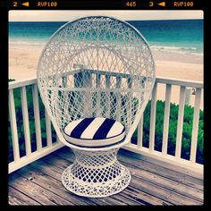 Striped chair #persifor